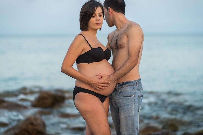 Sesión embarazo en el Clot de Burriana. Esperando a Teresa.