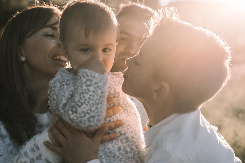 Sesión fotografica familiar en Onda con Salva y Belén
